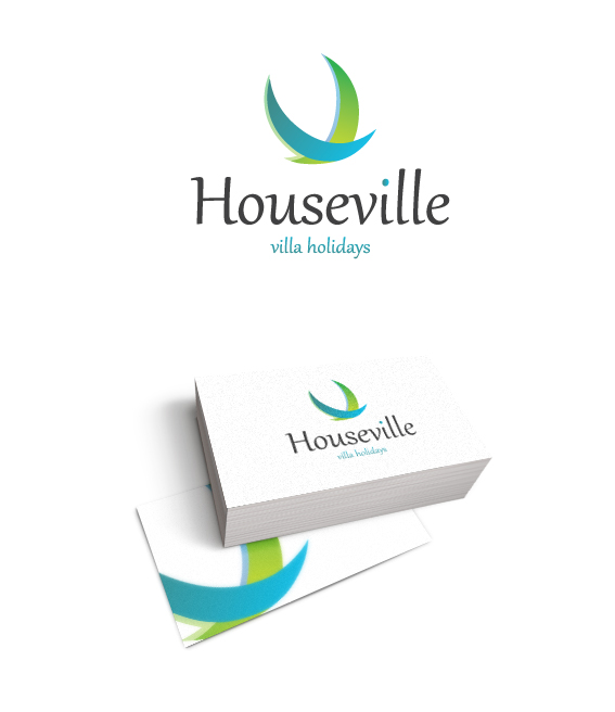 логотип для Houseville Villa Holidays